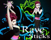 GLOW Rave Sticks