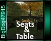 [BD]Seats&Table