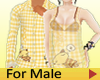 Couple Pajamas Top Male