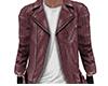 Lt Brown Leather Jacket