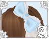Dolly Cat Bow~ Blue