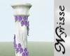 ~N~ Floral Trim Column
