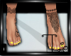 Dainty Feet N Yellow