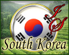 South Korea Badge