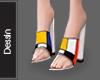 Mondrian Heels e