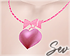 *S Love Necklace