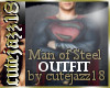 [cj18]Man of Steel Outfit Bundle (Superman 2013)