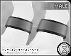 . paw cuffs | grey