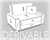 [Luv] Derivable Chair