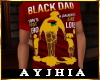 """a"""" Black Dad T Red"""
