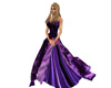 purple dress ball gown