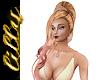 Rose gold tiara blonde
