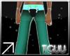 [TGUU] Aqua pants