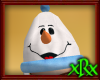 Snowman Ski Hat Blue