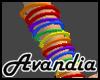 Av~Rainbow Bangles (R)