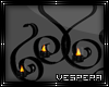 -V- Wall Art w/Candles