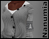winter grey sweater