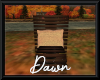 Autumn Sunset Deck Chair
