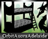 ~OA~ Zebra Bunk Bed