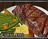 !E! STEAK DINNER PLATE