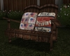 Couples Patriotic Chair