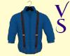 Classic Blue Shirt Susp