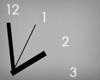 simple wall clock one