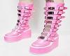 Pink PVC Shoe Fetish