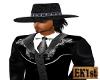 Cowboy Hat Black Hair