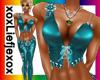 [L] Badgirl Aqua Top
