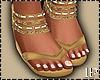 Cream Summer Sandals