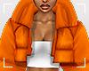 ṩPuffer Coat Orange
