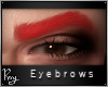 Sultry Brows-Bright Red