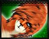 .M. Red Fox Hair M
