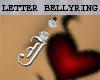 !JMD! Letter J-BellyRing