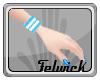 !Fel Blue L Wristband