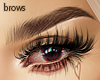 """""""Brown, thicc eyebrows"""""""