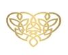 Celtic Love knot marker