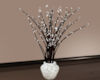 Lighted Twigs In Vase