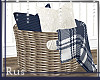Rus: Nova pillow basket