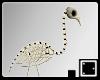 † Skeleton Flamingo