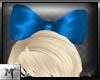 M' BigHeadBow ~ Blue