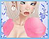 Peach Shoulder Puffs