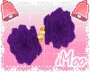 Purple Ankle Peonies
