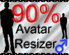 *M* Avatar Scaler 90%