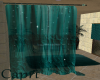 Teal Spa Curtains