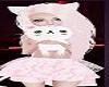 Pink Cats Girls Child Kids