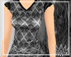 [Fly] Argyle Skull Top
