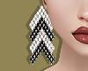 Crystal Arrow Earrings