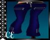 ::Blue Zipper Pants::